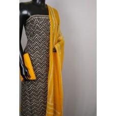 Kashish Printed Soft Cotton Unstitched Salwar Suit Material-BL KA320