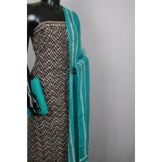 Kashish Printed Soft Cotton Unstitched Salwar Suit Material-BL KA321