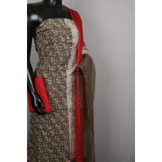 Kashish Soft Cotton Unstitched Salwar Suit Material With Kantha Work BL KA322