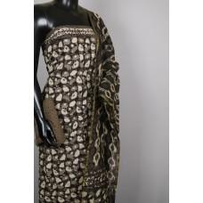 Cotton Unstitched Salwar Suit Material With Kantha Work BL KA330