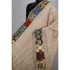 Modal Dupatta With Kalamkari Patch PNMSD 003