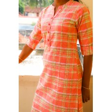 Designer Cotton Kurta - GM KT012