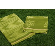 Shibori design Maheswari Unstitched Salwar Suit Material –AA027