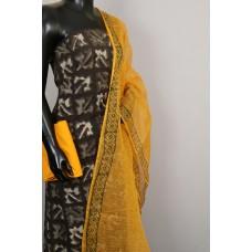 Kashish Printed Soft Cotton Unstitched Salwar Suit Material - BL KA411