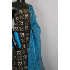 Kashish Printed Soft Cotton Unstitched Salwar Suit Material - BL KA412