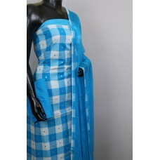Handloom Cotton Unstitched Salwar Suit Material- BL KA578
