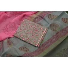 Summer cotton Unstitched Salwar Suit Material – BL KA655