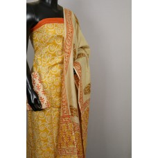 Semi Pashmina Unstitched Salwar Suit Material - BQ AA529
