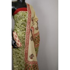 Semi Pashmina Unstitched Salwar Suit Material - BQ AA530