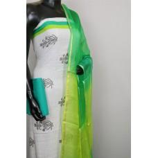 Cotton Unstitched Salwar Suit Material -BQ AA790