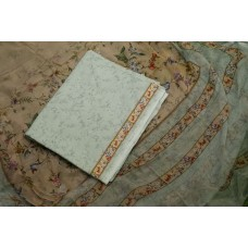Digital Printed Cotton Unstitched Salwar Suit Material BQ AA1047