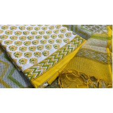 Soft Cotton Unstitched Salwar Suit Material BQ AA1073