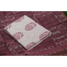 Applique Work Cotton Unstitched Salwar Suit Material BQ AA1085