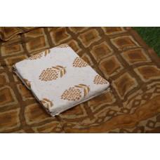 Applique Work Cotton Unstitched Salwar Suit Material BQ AA1086