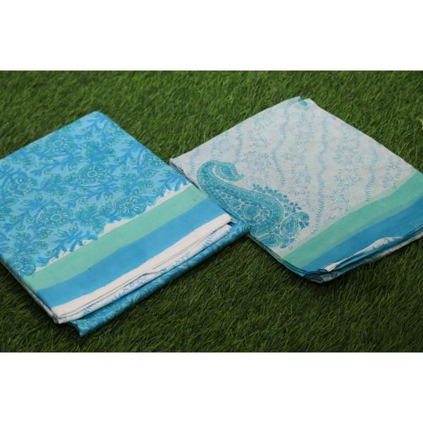 Soft Cotton Unstitched Salwar Suit Material BQ AA1089