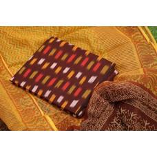 Ikkat Unstitched Salwar Suit Material – BQ AA928