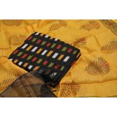 Ikkat Unstitched Salwar Suit Material – BQ AA930