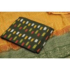 Ikkat Unstitched Salwar Suit Material – BQ AA931