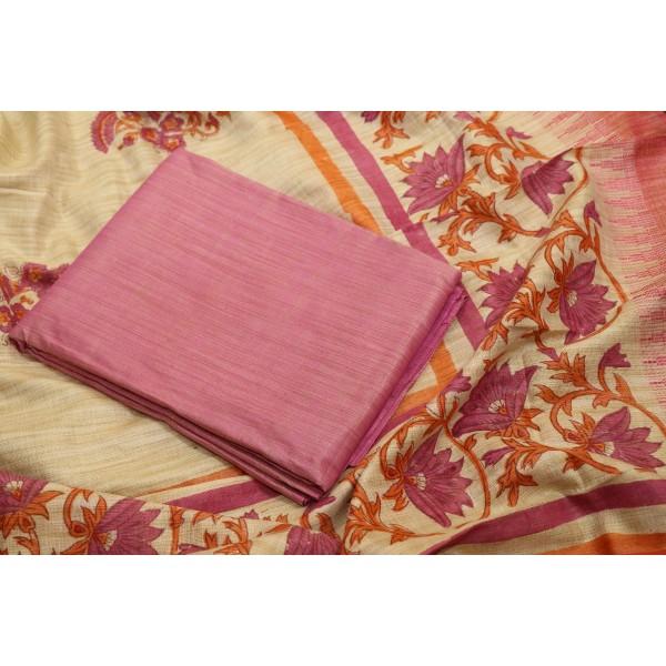 Kadhi Cotton Unstitched Salwar Suit Material BQ AA957