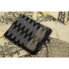 Ikkat Unstitched Salwar Suit Material – BQ AA962
