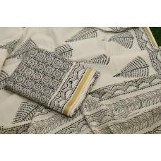 Kerala Cotton Unstitched Salwar Suit Material BQ AA965