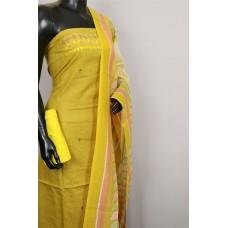 Designer Cotton Unstitched Salwar Suit Material - RM AA023