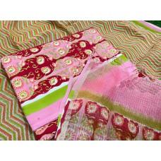 Soft Cotton Unstitched Salwar Suit Material RM AA096