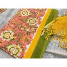 Soft Cotton Unstitched Salwar Suit Material RM AA098