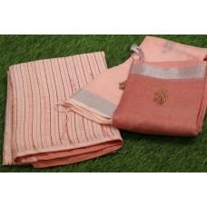 Linen Unstitched Salwar Suit Material-PN MS493