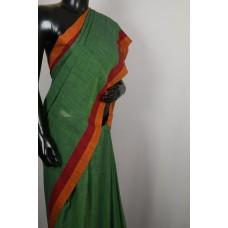 Handloom Cotton Linen Saree PN MS S003
