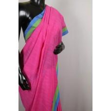Linen by cotton saree PN MS S004