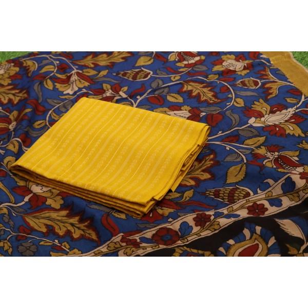 Handloom Cotton Unstitched Salwar Suit Material  IK AA013