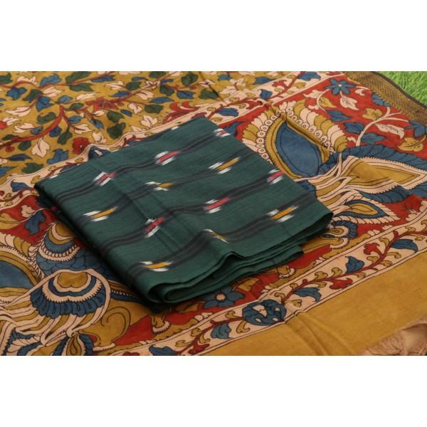 Ikkat Cotton Unstitched Salwar Suit Material  IK AA013