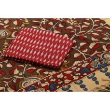 Ikkat Cotton Unstitched Salwar Suit Material  IK AA015