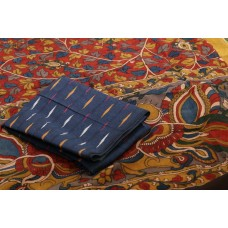 Ikkat Cotton Unstitched Salwar Suit Material  IK AA018