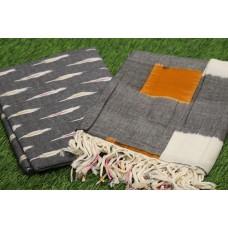 Ikkat Unstitched Salwar Suit Material – IK AA019