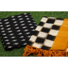 Ikkat Unstitched Salwar Suit Material – IK AA020