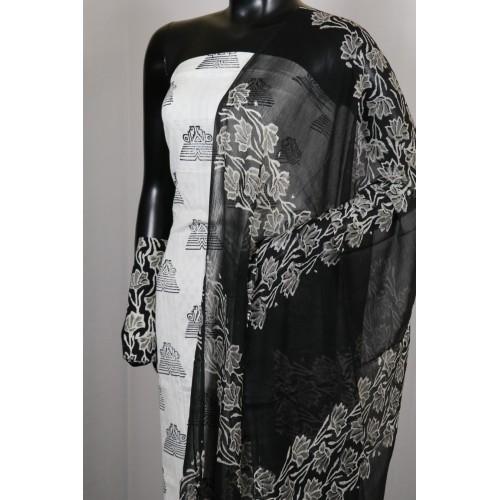 Unstitch Camric Cotton Suit
