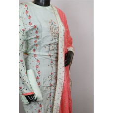 Muslin Cotton Semistitched Salwar Suit Material– RL AA030