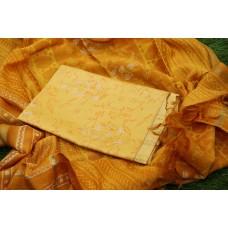 70gms Chanderi Unstitched Salwar Suit Material – SW AA039