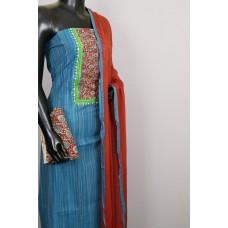 Cotton Unstitched Salwar Suit Material – VC SS013
