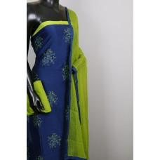 70 Gms Chanderi Unstitched Salwar Suit Material – VK EA106