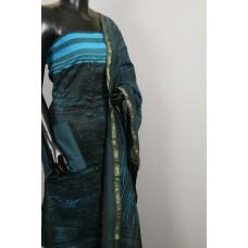 70 Gms Chanderi Unstitched Salwar Suit Material – VK EA108