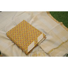 Cotton Unstitched Salwar Suit Materia –YA VC071