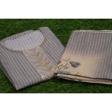 Chanderi Unstitched Salwar Suit Material–YA VC104