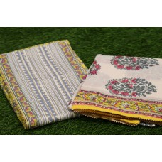 Cotton Unstitched Salwar Suit Material–YA VC110