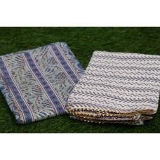 Cotton Unstitched Salwar Suit Material–YA VC112