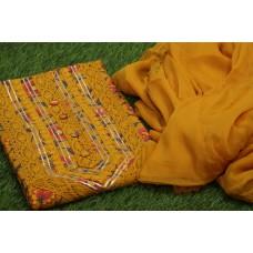 Cotton Unstitched Salwar Suit Material–YA VC117